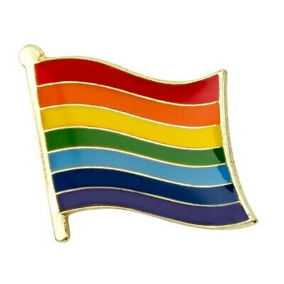 "LOT OF 10 TRANSGENDER FLAG LAPEL PIN 0.5/"" Trans Pride LGBT Hat Badge Transexual"
