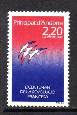 french Mnh 1989 Sgf416 Bicentenary Of French Revolution Responsible Andorra