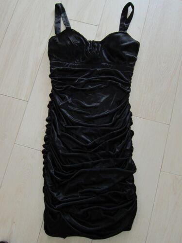 Sehr Ungetragen Neu Schwarze Schwarz Heine Kleid M Raffiniert 38 Kleine Gr qvnTEwa
