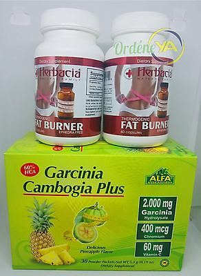 Garcinia Cambogia Plus 30 Tea Pina Alfa Vitamins 2 Fat Burner