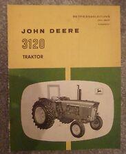 John Deere Schlepper 3120 Betriebsanleitung