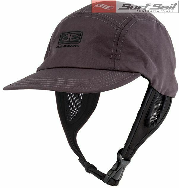 ea881a267 Ocean & Earth Mens Mesh Surf Cap Hat Sun Protection Protective Headwear  Velcro