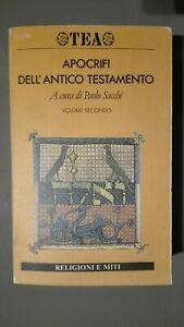 Apocrifi dell'Antico Testamento Volume 2° Edizioni TEA a cura di Paolo Sacchi