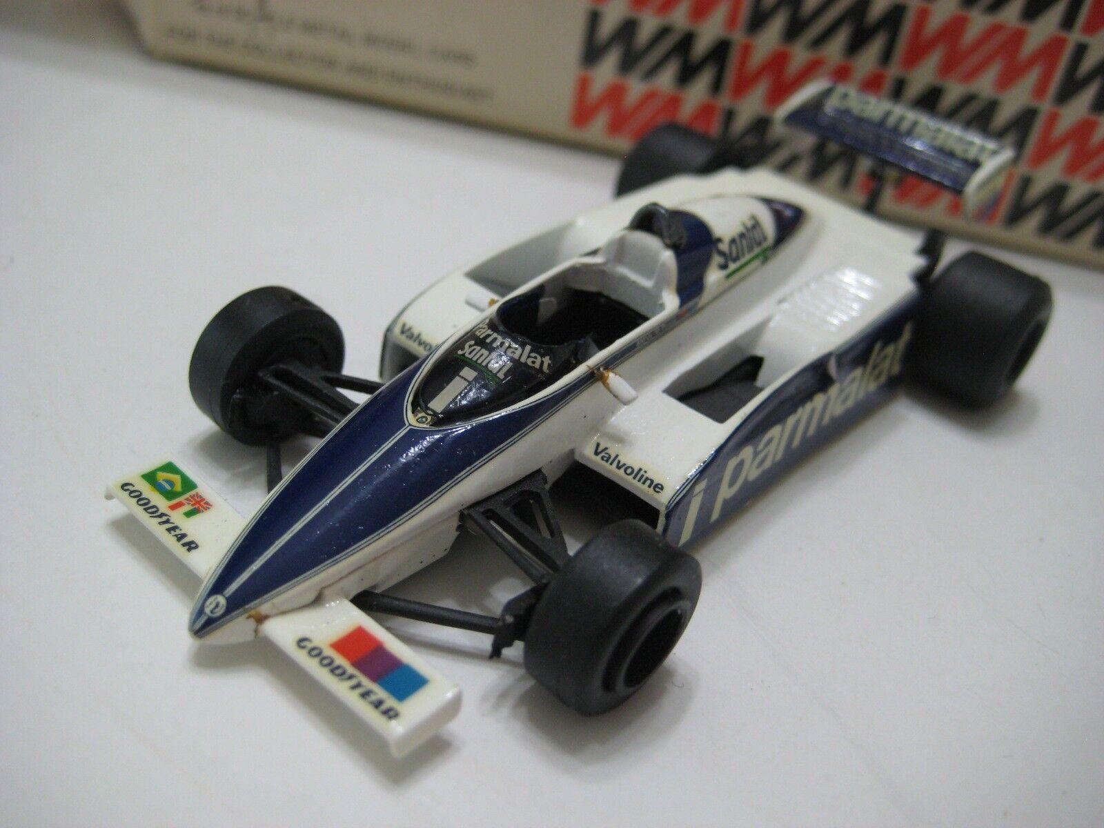 Western Models (Gran Bretaña) Brabham BT50 BMW Turbo 1982 Diecast 1 43 En Caja
