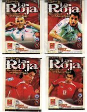 Chile 2008 SALO Historia de La Roja rumbo al Mundial Soccer 4 pack