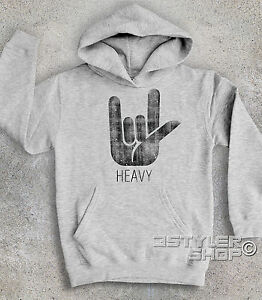 Sabbath CORNA metal Black Heaven Felpa HEAVY bambino and rock hard avwx0wq