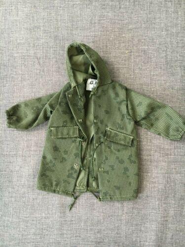 "Vintage Hasbro Gi joe 1//6 Échelle 12/"" Trenchcoat vert veste camouflage NHC-1"