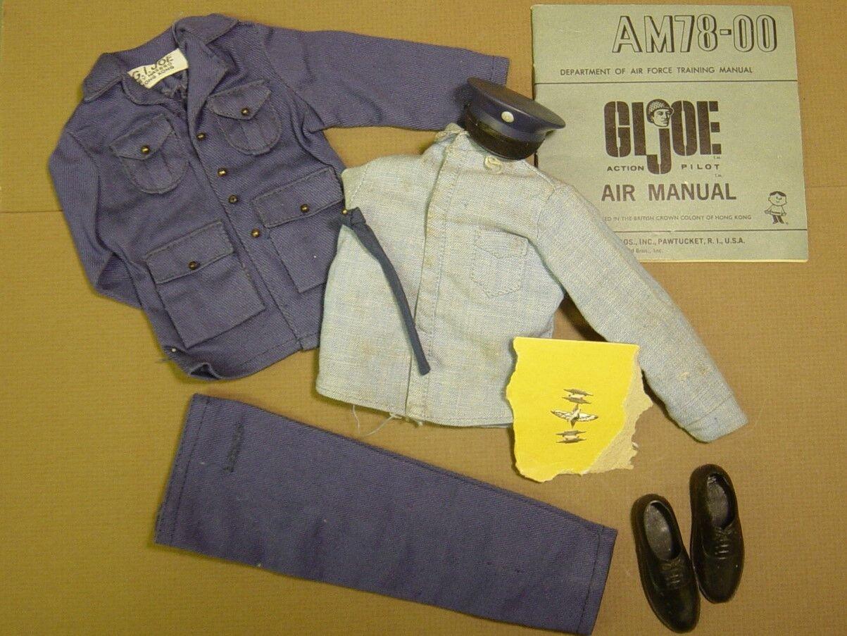 Gi Joe Vintage Dress Pilot Uniform with wings, TM Hong Kong