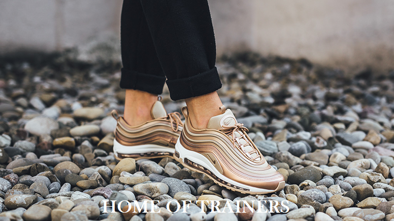 Nike Air Max 97 Blanc Ultra'17 Bronze Métallique Rouge Blanc 97 Filles Femmes Baskets- be3761