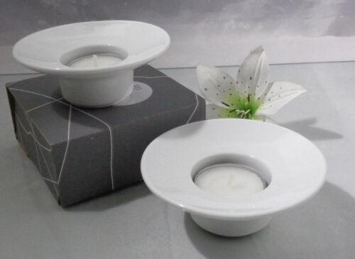 Rosenthal Culture Weiss  2 x Tischlicht 1 A Neuware