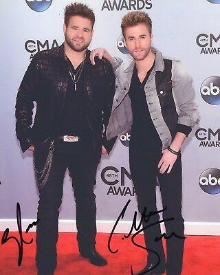 Trend Mark The Swon Brothers Group Signed 8x10 Photo W/coa Photographs