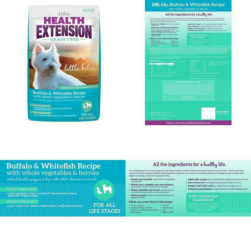 Health Extension Grain Free Buffalo & Whitefish Recipe
