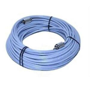 WORKMAN 8X-100-PL-PL 100` FOOT CB RADIO HAM ANTENNA COAX CABLE MOLDED ENDS