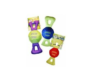 Jolly Tug For Dog Toy L Xl Each Squeaks Floats