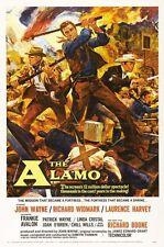 POSTER JOHN WAYNE WESTERN THE ALAMO ELDORADO BIG #4