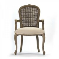 Zentique Lyon Cane Back Arm Chair Cfh122 Cane 490 H013