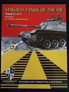 Magach-Tanks-of-the-IDF-Magach-1-amp-2-Vol-1-BY-ROBERT-MANASHEROB-SABINGA-MARTIN