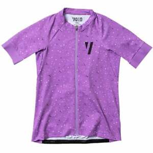 Void Ride Ladies Short Sleeve Cycling Jersey - Lavender Spray New RRP £105