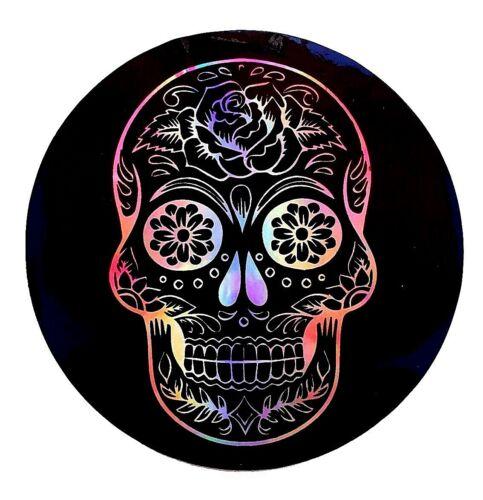 "Skull 3.5/"" Sticker Decal Car 3D tablet Mexico punk Guitar Truck vinyl skateboard"