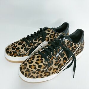 Details about Adidas 10 Sneakers Continental 80 'Leopard' Calf Hair Print  Low Top F33994
