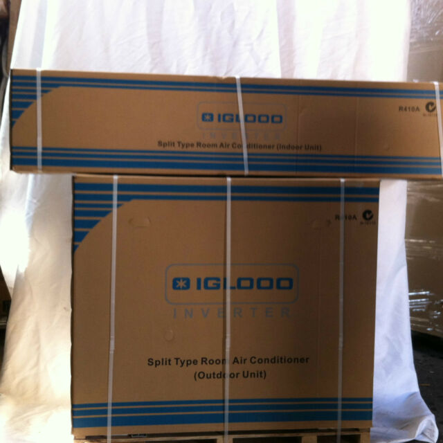 B NEW 1HP  SPLIT AIR CONDITIONER DC INVERTER PCS-25V3A 1.6-3KW COOLING & HEATING