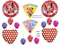 Minnie Mouse 2nd Diamondz Birthday Party Balloons Decoration Supplies Second