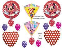 Minnie Mouse 2nd Diamondz Birthday Party Balloons Decoration Supplies Second