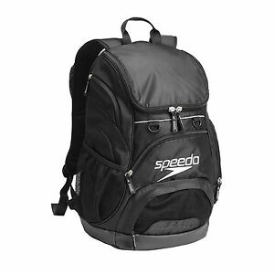 NEW-SPEEDO-TEAMSTER-BACKPACK-35L-BLACK-SWIMMING-BAG-RUCKSACK-GYM-KIT-RUCKSACK