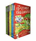 13-Storey Treehouse Set by Andy Griffiths (2017, Paperback)