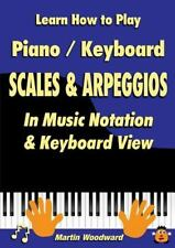 Learn How to Play Piano / Keyboard Scales & Arpeggios : In Music Notation &...