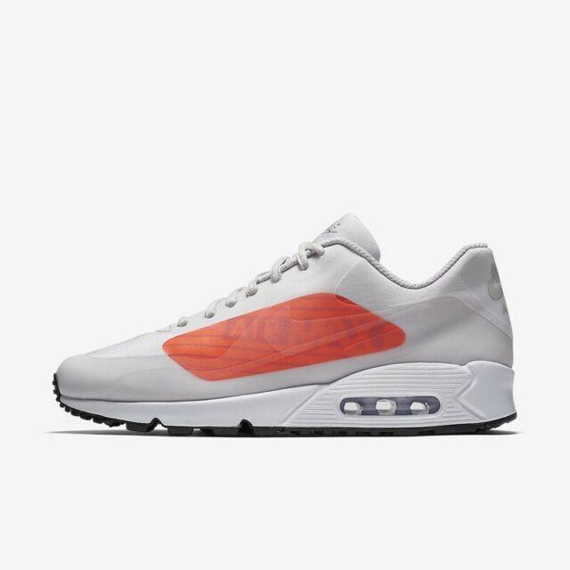 Nike Air Max 90 NS GPX Neutral Grey Bright Crimson Aj7182 001 Size 11
