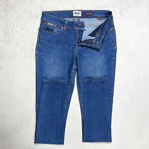Superdry Super Skinny Jeans Größe w28 l32 Stretch Denim Slim Mittelblau