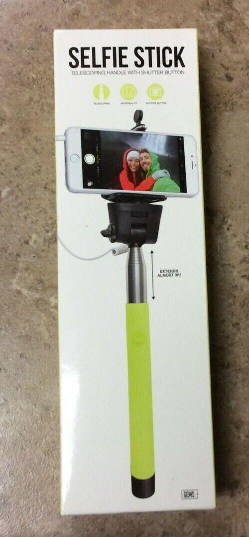 Gems 3FT Extendable Universal Selfie Stick Berry