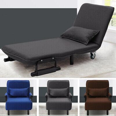 Folding Single Sofa Chair Bed Fabric