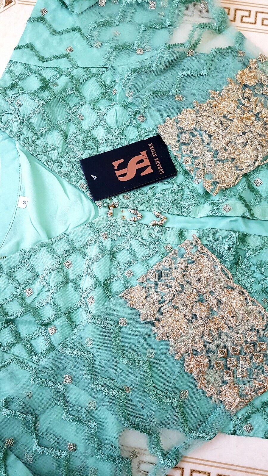 Original Pakistani designer Shalwar kameez,party wear clothes small medium size