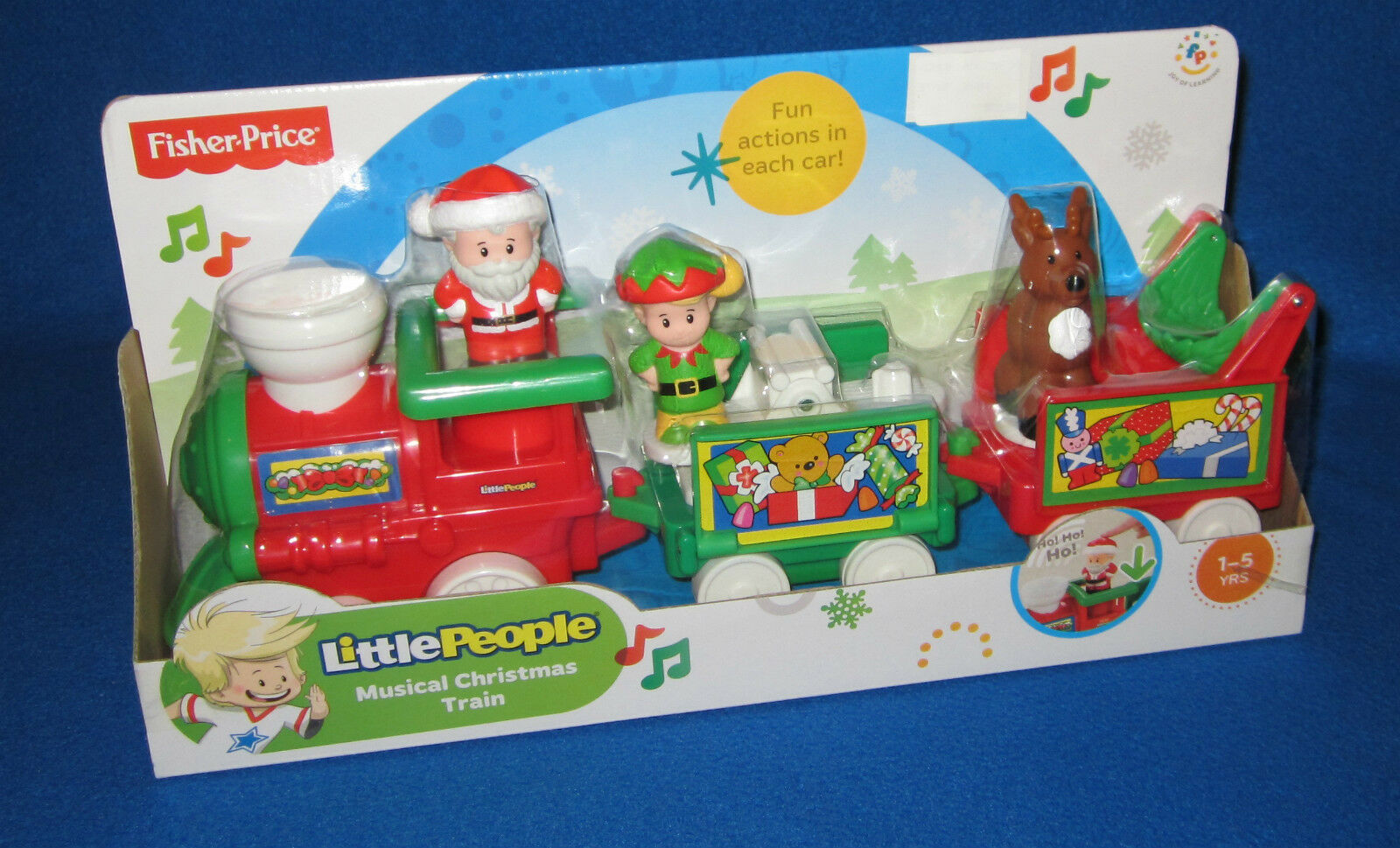 Fisher Price Little People Musical Musical Musical Christmas Holiday Train NEW 259992