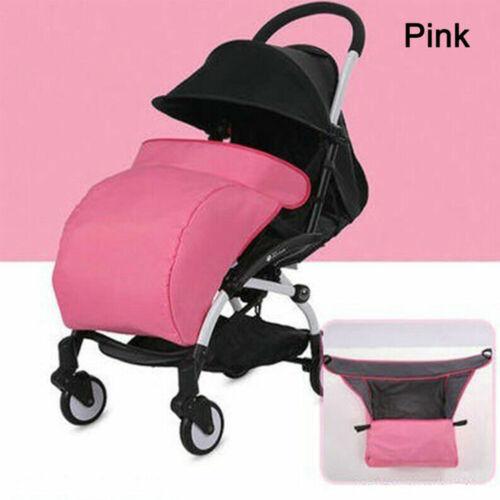 Universal Baby Stroller Pram Foot Muff Cover Pushchair Windproof Warm Padded UK