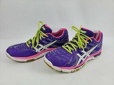 Asics Gel Vollycross Revolution Woman's NetballVolleyball Shoes Sz.10 B356Y   eBay