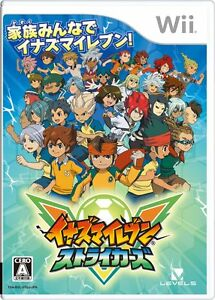 New Inazuma Eleven Strikers Japan Import Level 5 Nintendo Wii 4571237660245 Ebay
