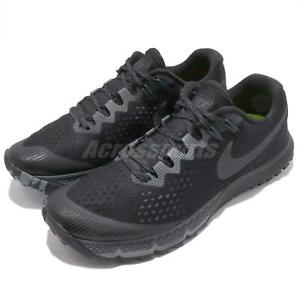a9e3dbaaecf2 Nike Air Zoom Terra Kiger 4 IV Black Men Trail Running Shoes ...