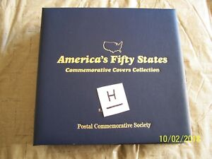 AMERICA-039-S-FIFTY-STATES-COMMEMORATIVE-COVERS-COLLECTION-COMPLETE