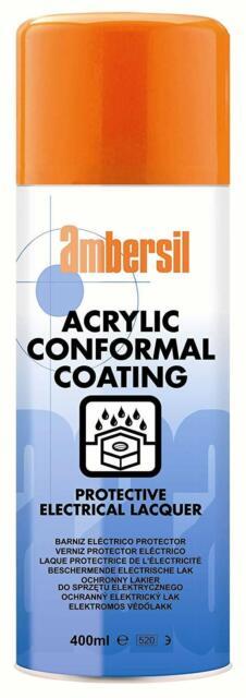 Ambersil 400ml Acrylic Conformal Coating Anti Corosion for PCB's 30235