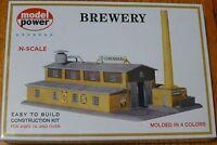 Model Power N 1509 Building Kit -- Brewery - 8-1/2 X 5-1/2 21.3 X 13.8cm