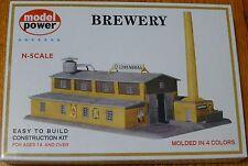 "Model Power N #1509 Building Kit -- Brewery - 8-1/2 x 5-1/2"" 21.3 x 13.8cm"