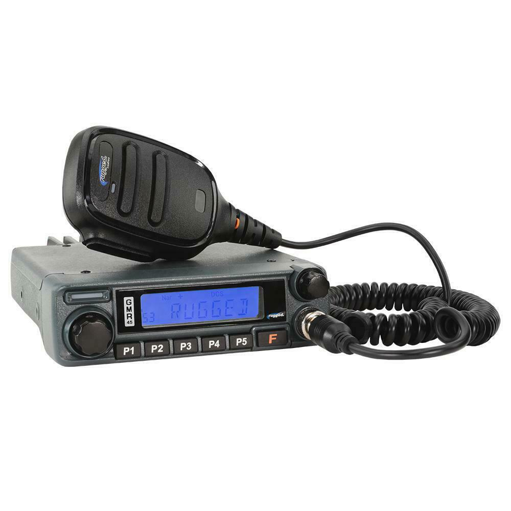 Rugged Radios GMR45 High Power GMRS Mobile Radio. Available Now for 259.00