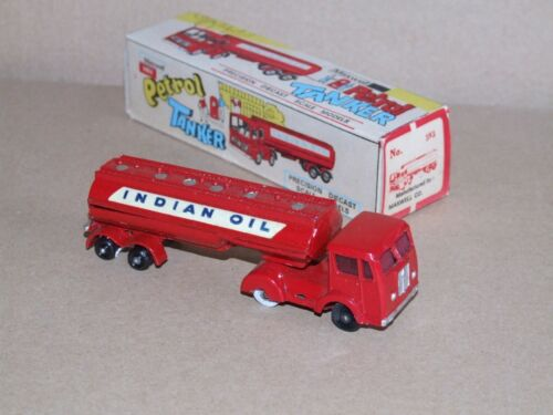 Tanker Toys 593 Budgie Milton Mini Rare Copie Oil Petrol inde Indian wI4x7qg