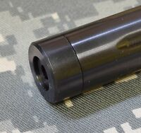 Ruger 10/22 Bull Barrel .920 Smooth Thread Protector 1/2-28 Black Made In Usa