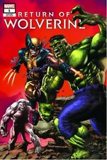 RETURN OF WOLVERINE #1 VARIANT MICO SUAYAN TRADE X-MEN X-23 homage HULK 181
