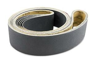 2 X 42 Inch Silicon Carbide Extra Fine Grit Sanding Belts