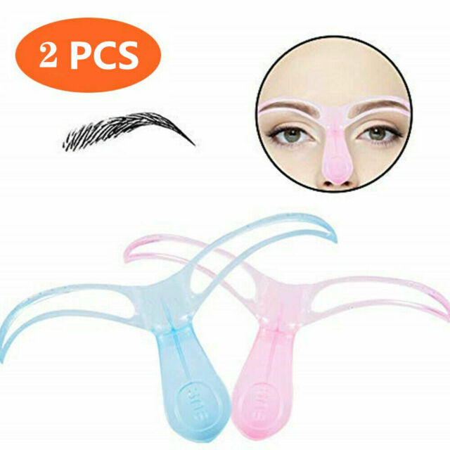 Plastic Eyebrow Grooming Stencil Template Eye Brow Shaping Guide Diy Tool S For Sale Online Ebay
